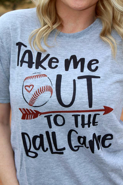 Take Me Out to the Ball Game Tee - Jourdan's Jewels