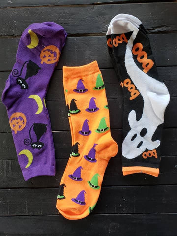 Halloween Socks - 6 Styles! - Jourdan's Jewels