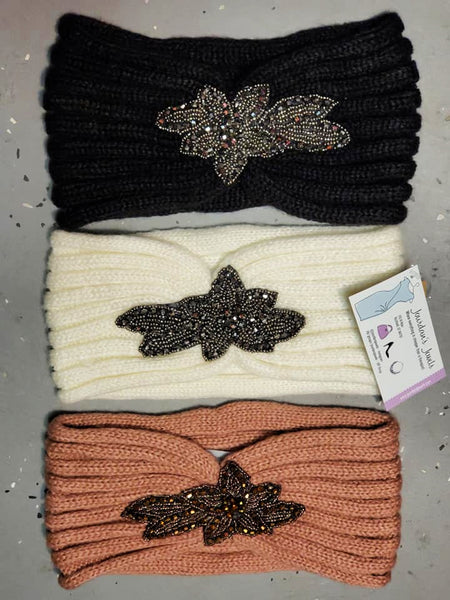 Staci Headwrap - Ivory - Jourdan's Jewels