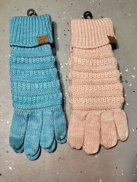 CC Touch Screen Gloves - Two Tone - Jourdan's Jewels