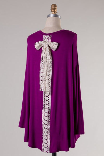 Patsy Top - Purple