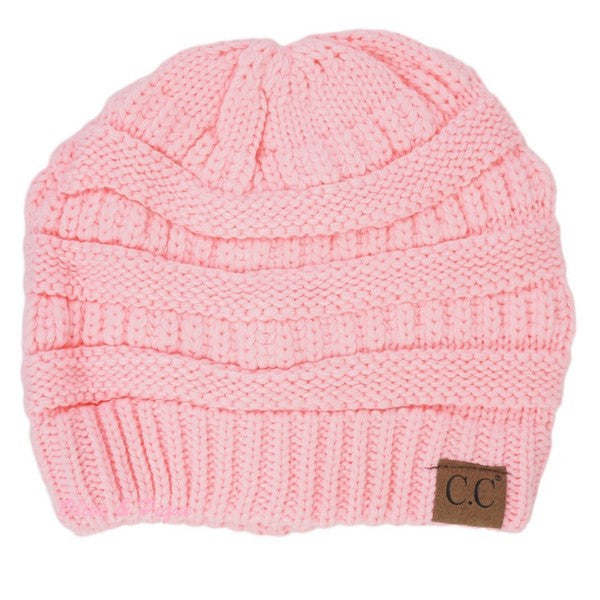 CC Beanie - Pale Pink - Jourdan's Jewels