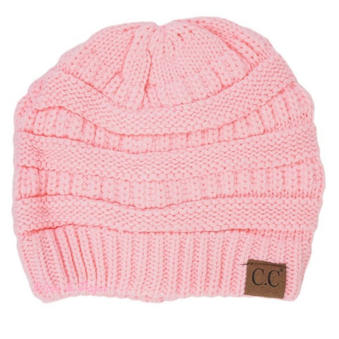 CC Beanie - Pale Pink - Adult - Jourdan's Jewels