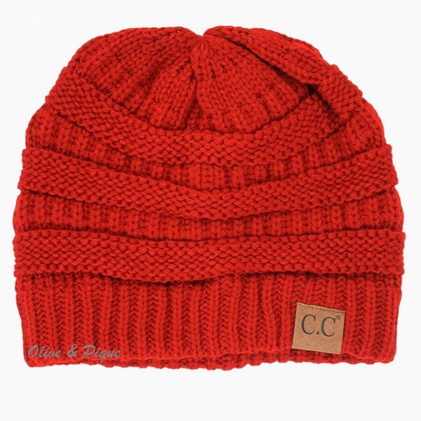 CC Beanie - Red - Jourdan's Jewels
