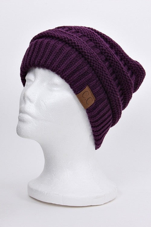 CC Beanie - Purple - Jourdan's Jewels