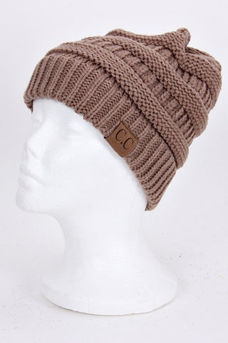 CC Beanie - Taupe - Jourdan's Jewels