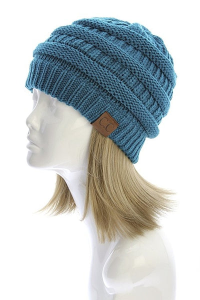 CC Beanie - Teal - Jourdan's Jewels