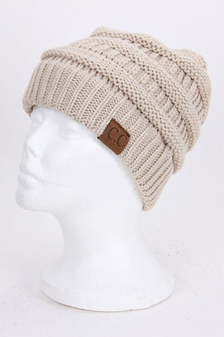 CC Beanie - Beige - Jourdan's Jewels