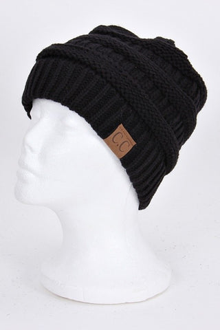 CC Beanie - Black - Jourdan's Jewels