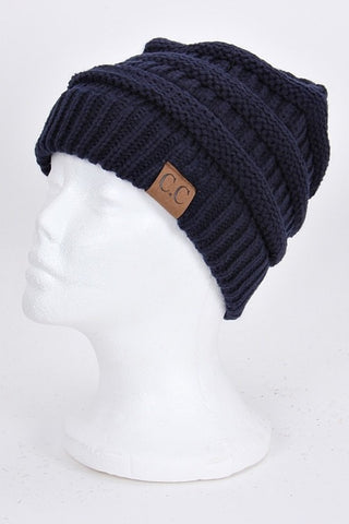 CC Beanie - Navy - Jourdan's Jewels