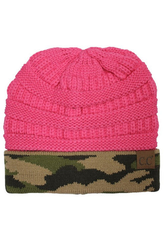CC Beanie - Pink Camo - Jourdan's Jewels