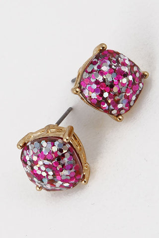 Glitter Party Earrings - 2 Colors - Jourdan's Jewels