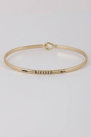 Blessed Bangle - Jourdan's Jewels