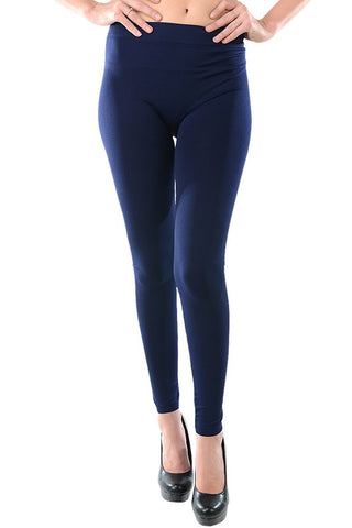 Solid Leggings - Navy - Jourdan's Jewels