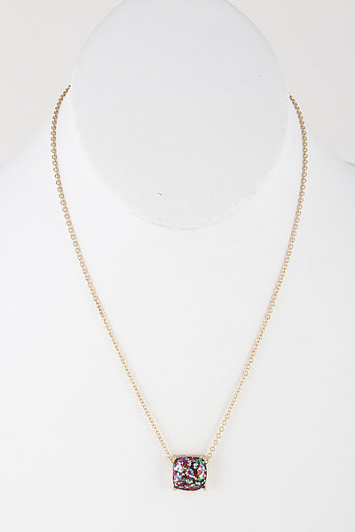 Glitter Party Necklace - 3 Colors