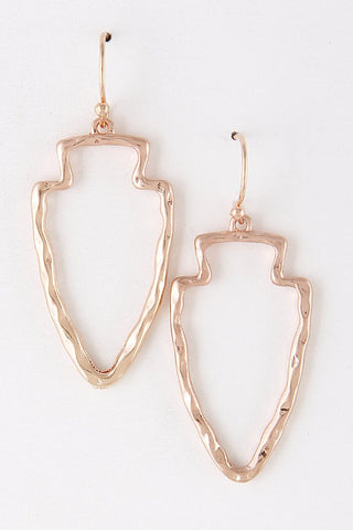 Arrowhead Earrings - 2 Colors - Jourdan's Jewels