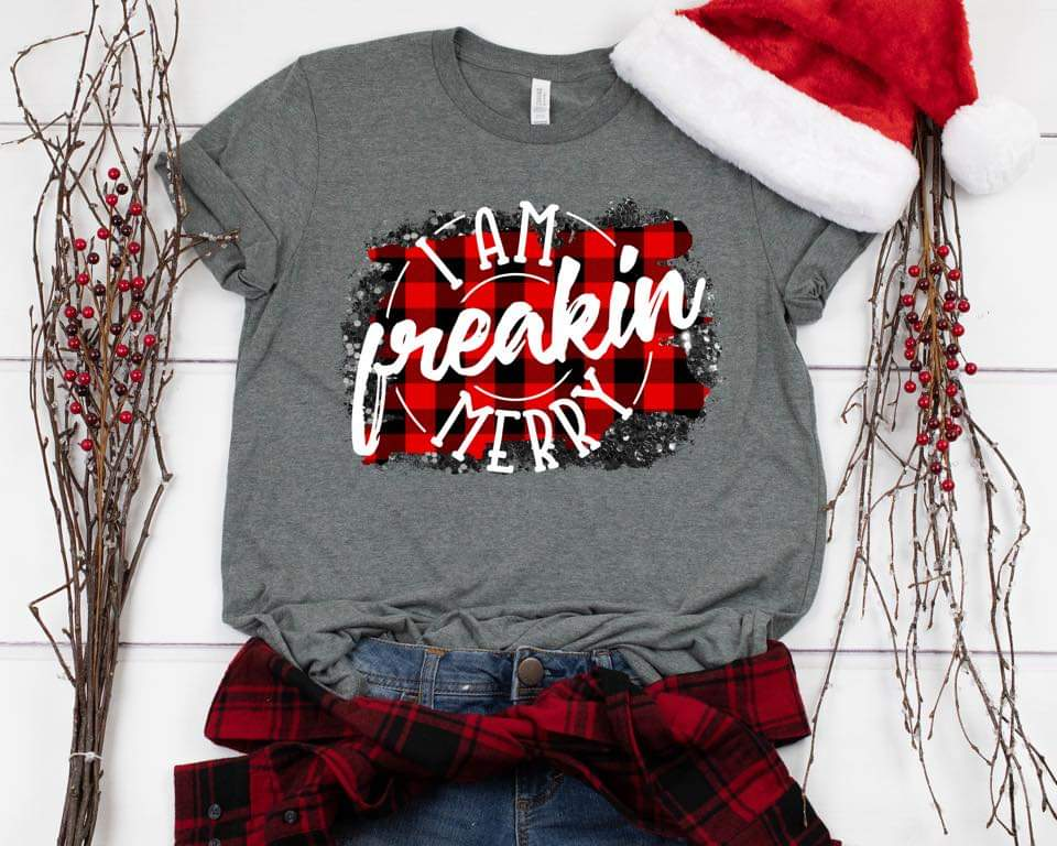 I am Freakin' Merry Christmas Tee - Jourdan's Jewels