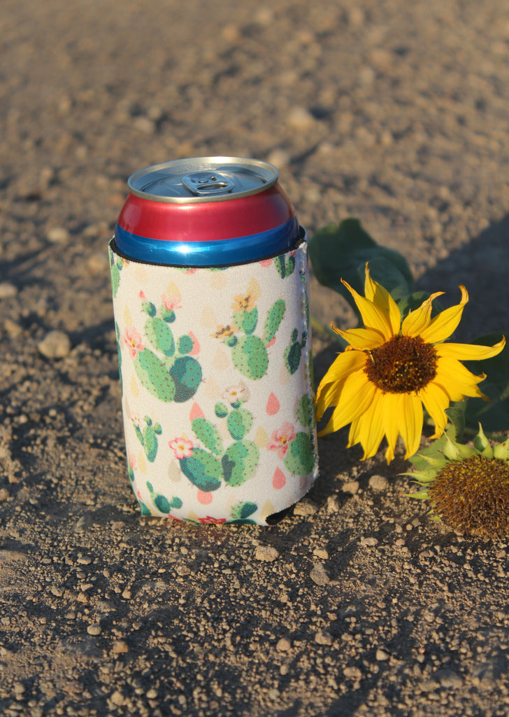 Blooming Cactus Coozie - Jourdan's Jewels