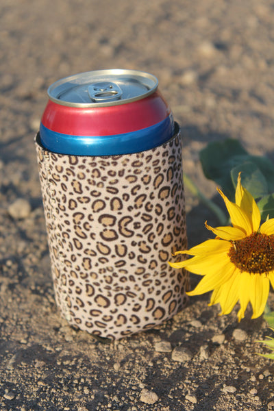 Leopard Print Coozie