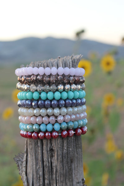 Beaded Stacking Bracelets - Lots of Colors! - Jourdan's Jewels