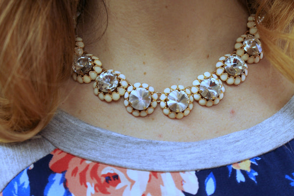Chunky Rhinestone Necklace - Jourdan's Jewels