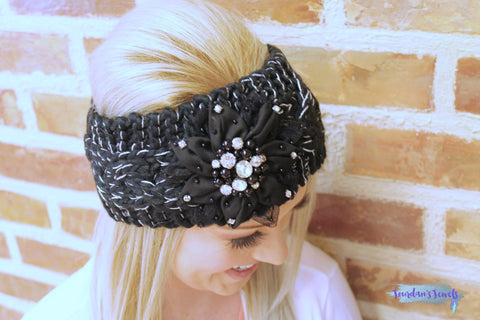 Renee Headwrap - Black - Jourdan's Jewels