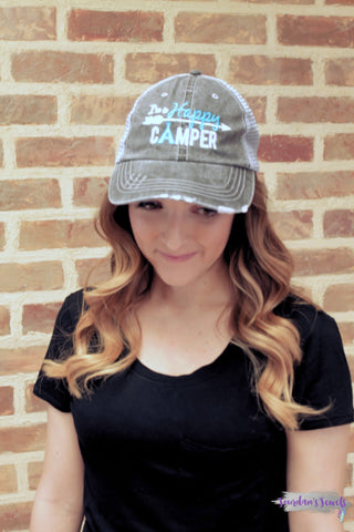 I'm a Happy Camper Trucker Hat - 4 Colors