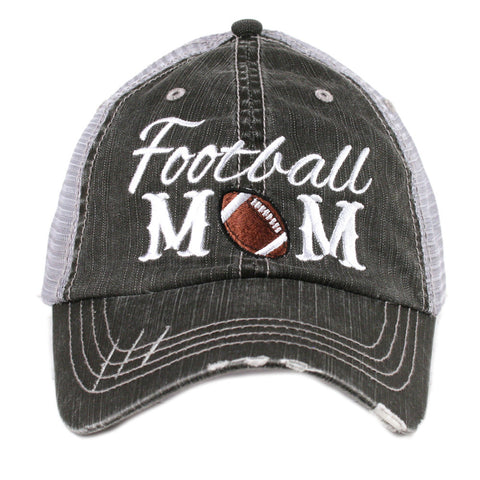 Football Mom Hat - Jourdan's Jewels