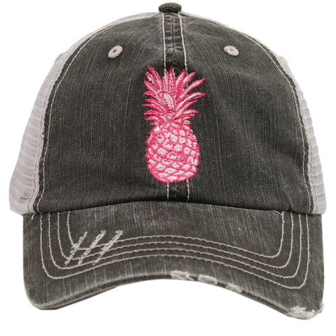 Pink Pineapple Hat - Jourdan's Jewels