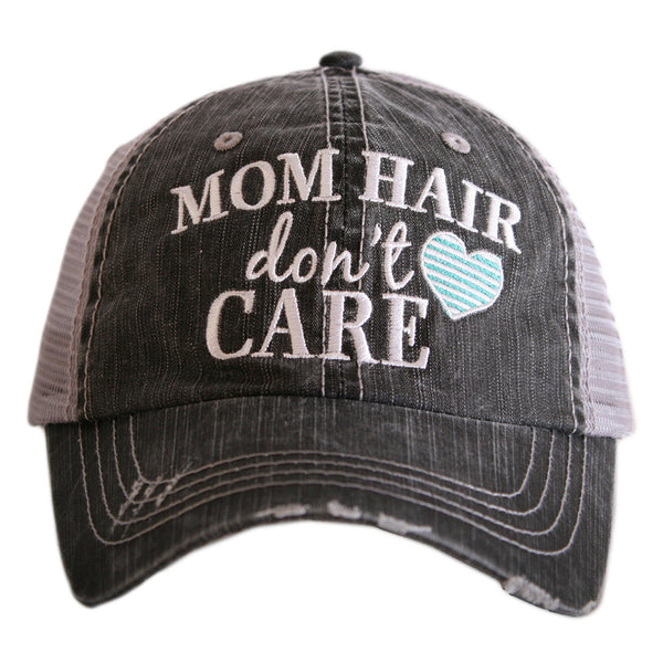 Mom Hair, Don't Care Hat - Jourdan's Jewels