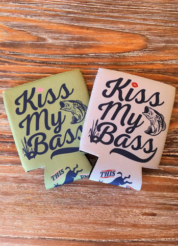 Kiss my Bass Coozie - Jourdan's Jewels