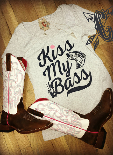 Kiss my Bass T-Shirt - Jourdan's Jewels