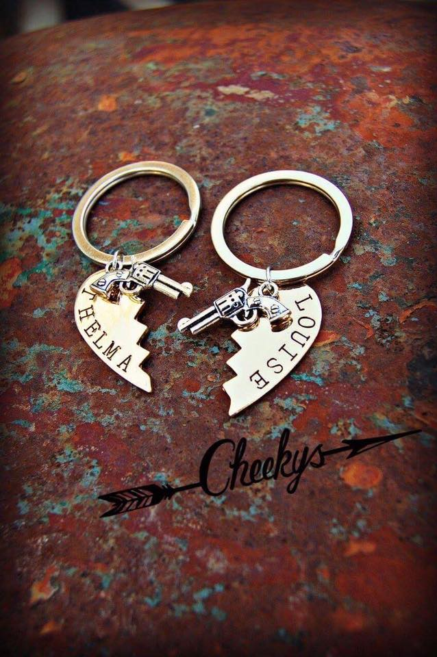 Thelma & Louise Keychain Set - Jourdan's Jewels