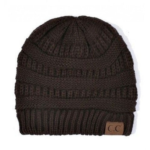 CC Beanie - Brown - Jourdan's Jewels