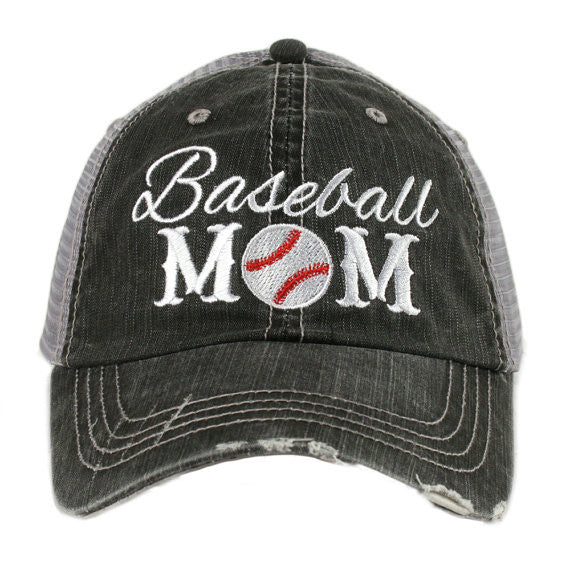 Baseball Mom Hat - Jourdan's Jewels