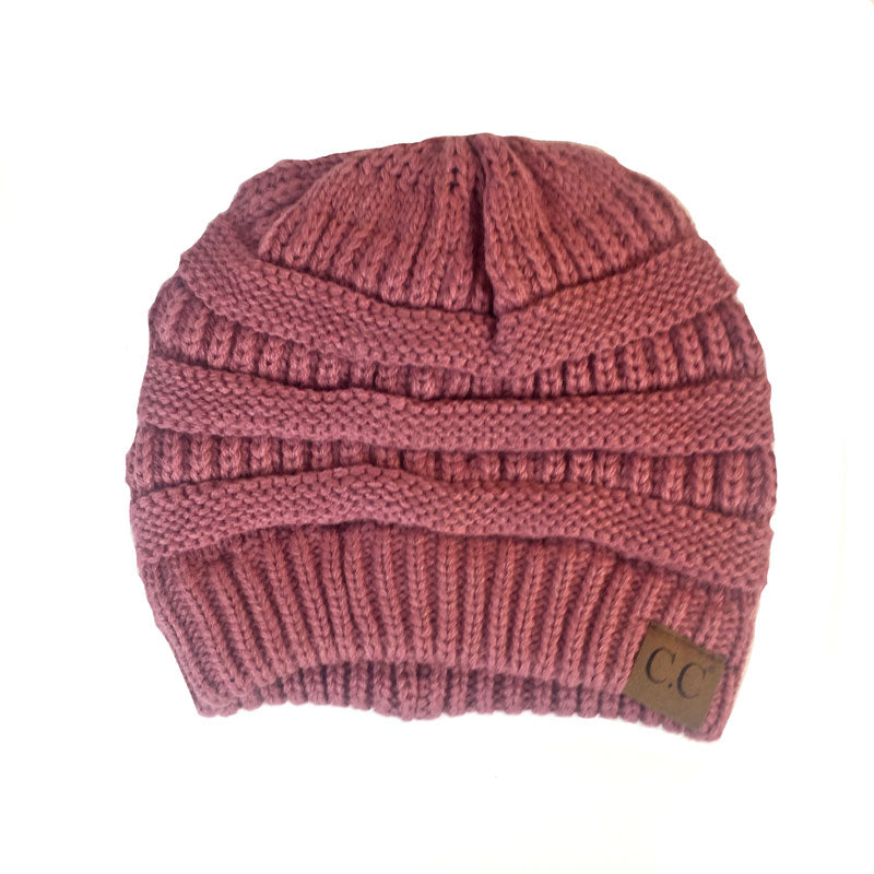 CC Beanie - Mauve - Jourdan's Jewels
