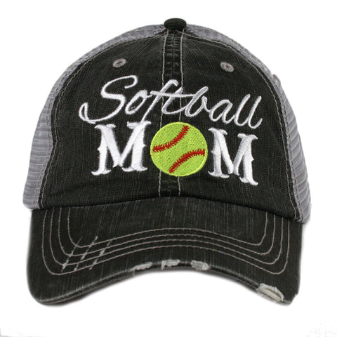 Softball Mom Hat - Jourdan's Jewels