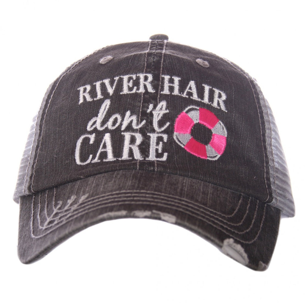 River Hair, Don't Care Trucker Hat - 2 Colors