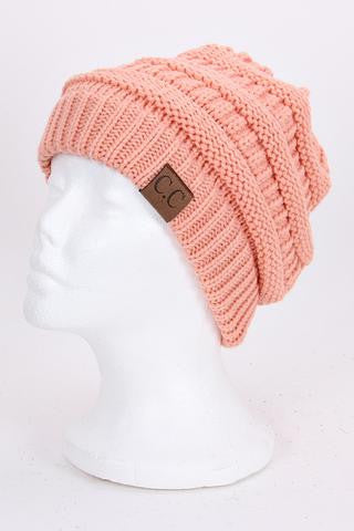 CC Beanie - Peach - Jourdan's Jewels