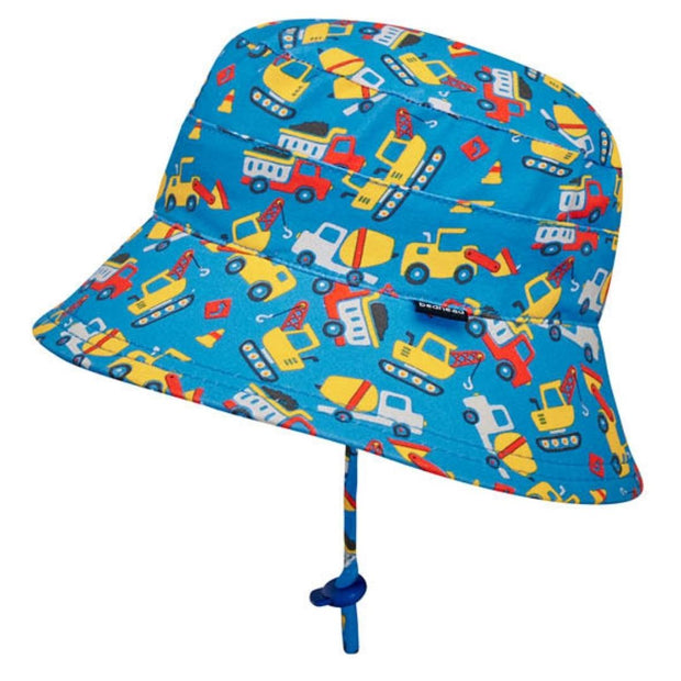 Bedhead Hats boys toddler hat with chin strap and toggle