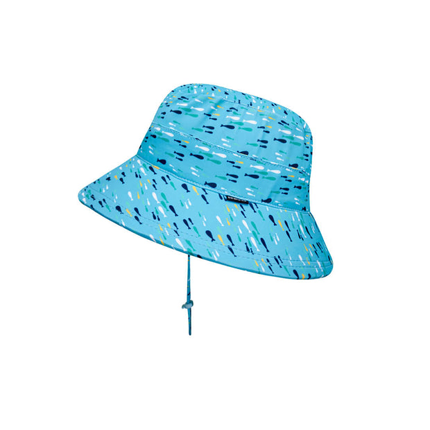 Bedhead Hats fish print bucket hat for toddlers