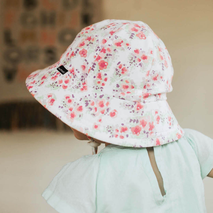 Bedhead Hats Grace Toddler Bucket Hat side lifestyle