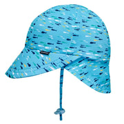 BEDHEAD HATS FISH Boys Swim Legionnaire Hat UPF50+