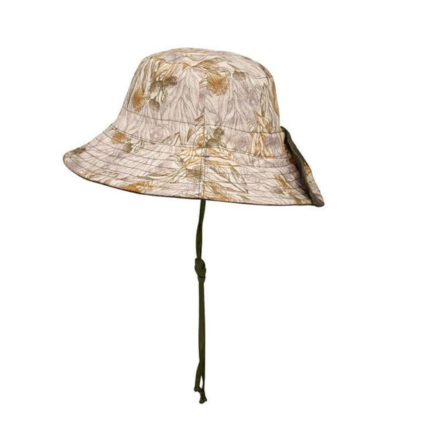 Bedhead Hats Mallee Heritage Classic Bucket Hat Kids side