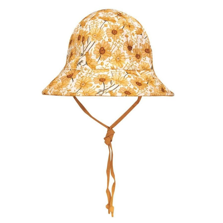 Bedhead Hats Marguerite Heritage Classic Bucket Hat Girls Front view