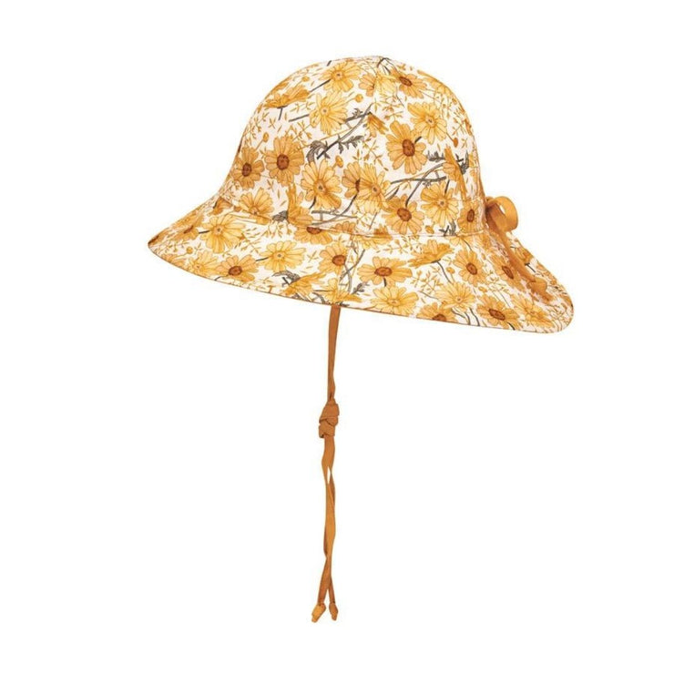 Bedhead Hats Marguerite Heritage Classic Bucket Hat Girls Side