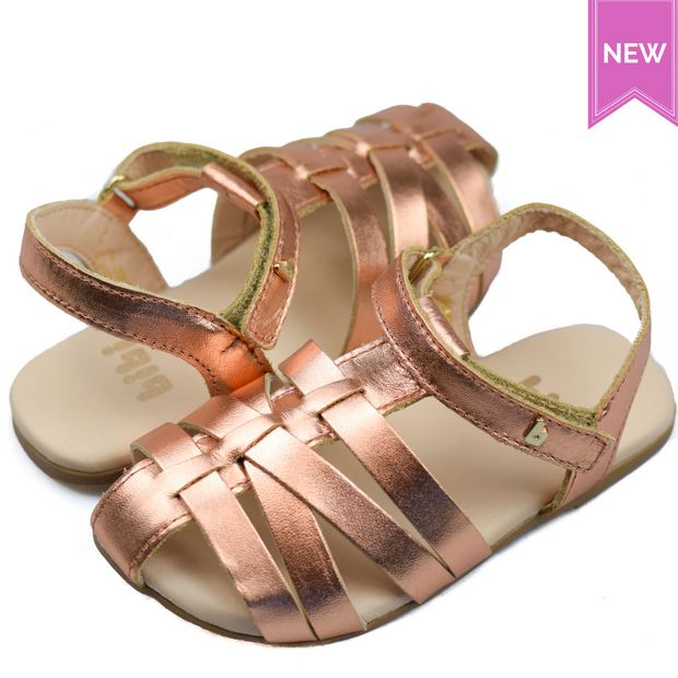BIBI BIRK MINI Sandals Copper