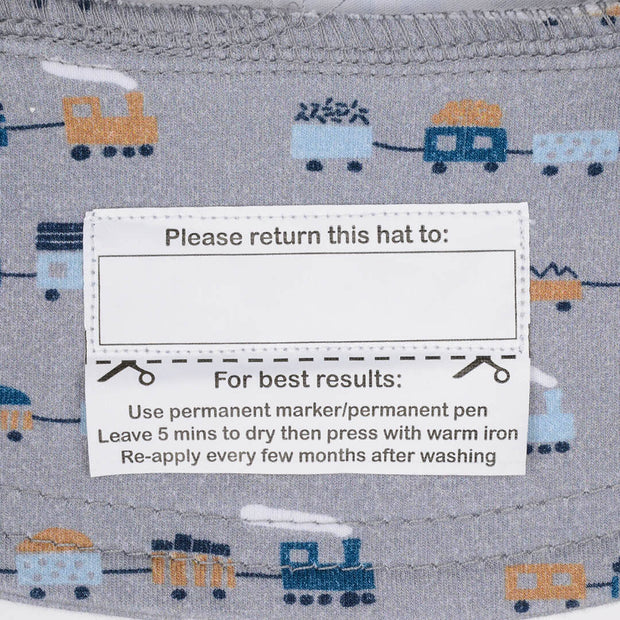 Bedhead Hats return to label on legionnaire hat for babies