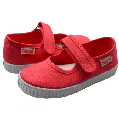 CIENTA CORAL Canvas Mary Jane