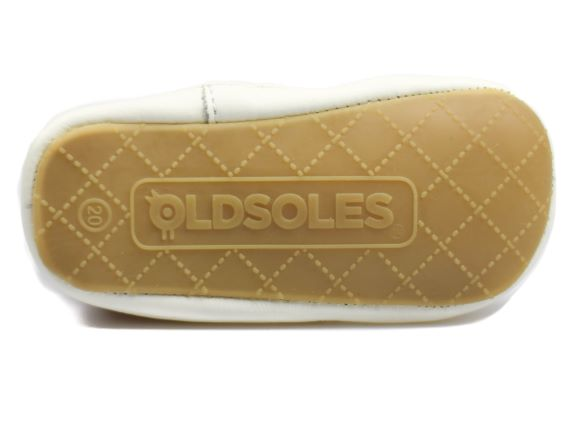 OLD SOLES CHEER BAMBINI Jeans White